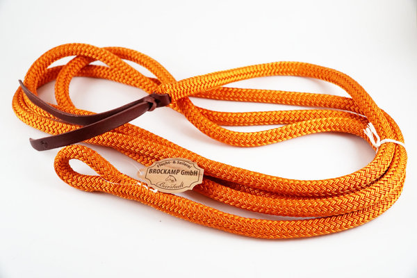 BROCKAMP Führseil in Profi-Trainerqualität, Horsemanship Lead Rope 3,7 m